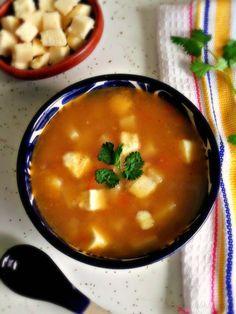 Caldillo de Papa (Mexican Potato Soup w/ Queso Fresco)