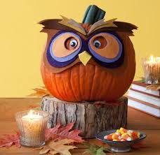 Картинки по запросу сова из тыквы поделка | Осенние ...