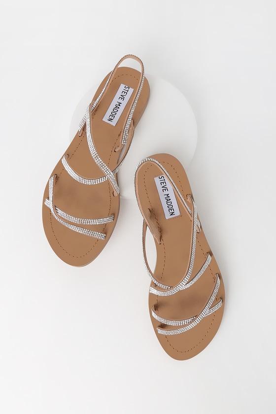 Rita Natural Multi Strappy Sandals