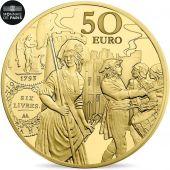 481979 France Monnaie De Paris 50 Euro Semeuse Ecu De 6 Livres 2018 Fdc Or Fdc 50 Euro De 151 A 500 Euros Paris O Monnaie De Paris Paris France