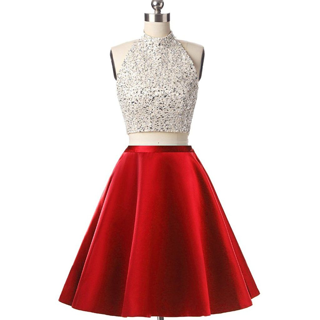 Short mini homecoming dress piece homecoming dresses homecoming