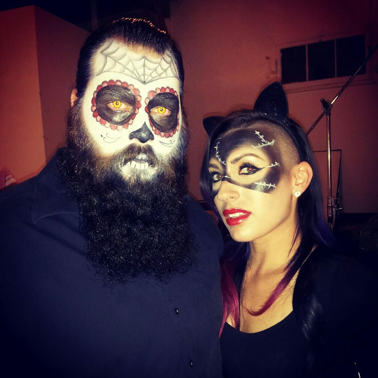 how to do skeleton makeup on a guy with a beard - Google Search ...