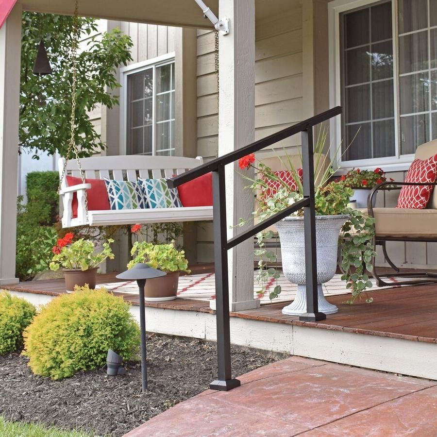 Best Freedom Assembled 6 Ft X 3 Ft Lincoln Stair White Pvc Stair Rail Kit With Balusters At Lowes 640 x 480