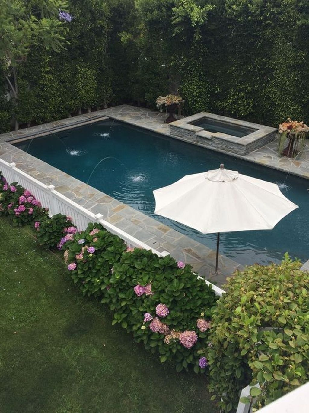 51 Popular Small Swimming Pool Design On A Budget Pool Designs Pool Landscape Design Swimming Pool Designs