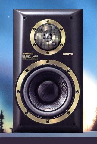 ONKYO Monitor 500 1984 Audiophile Speakers Home Bookshelf