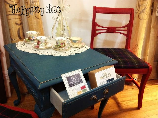 The Empty Nest ~ The Empty Nest Winter Window~Chalk Paint™~German Fair Dining Room In German Inspiration Design