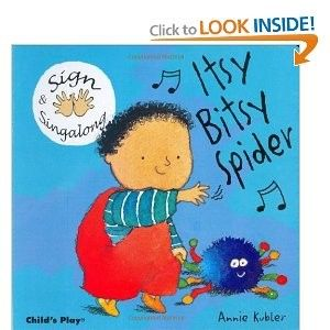 Spider books for babies and toddlers