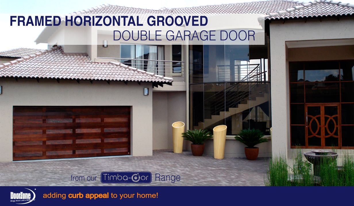 Tired Of The Same Old Garage Door Designs Our Framed Horizontal