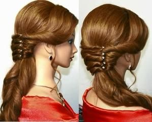Pretty Easy Hairstyle Tutorial Stylish Hair Hair Tutorial Hairstyle