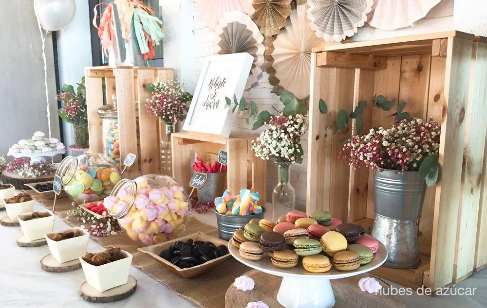 Pin en Mesas de dulces y postres para bodas