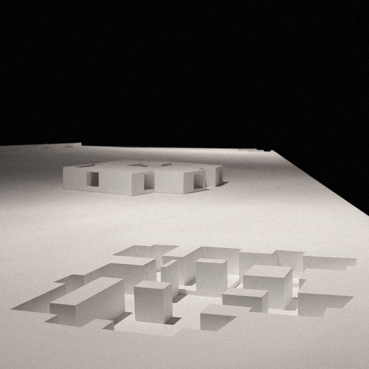 aires mateus house in cado os architecture models
