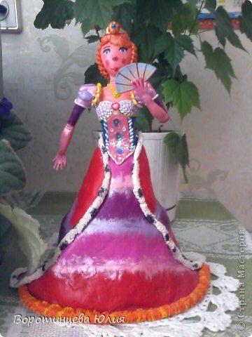Принцесса из пластилина   Принцессы, Пластилин, Цветы