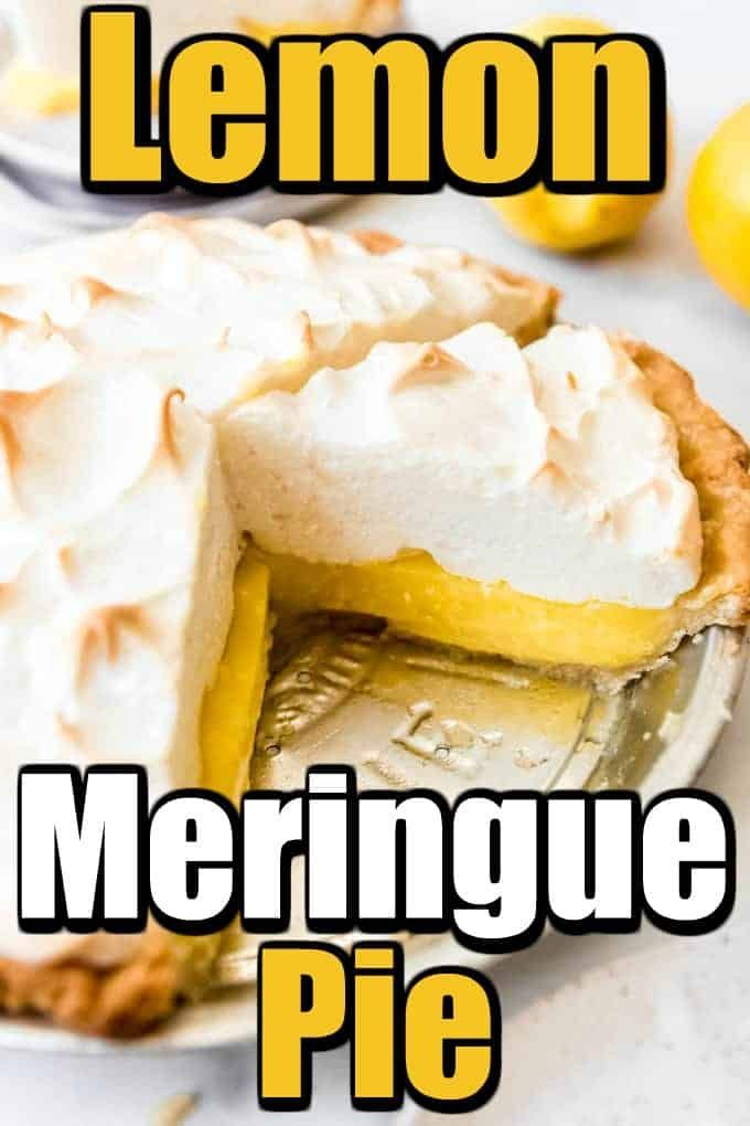 Want to make a Perfect Lemon Meringue Pie? Let us help you this great recipe and some tips and tricks! #lemonmeringuepie #meringue #pie