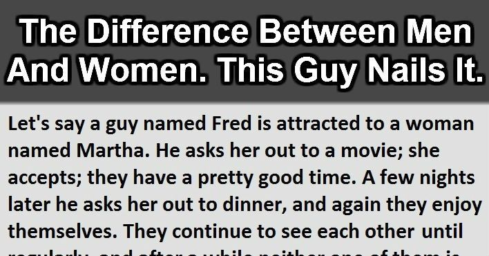 the differences and similarities between males and females There are so many books and articles that talk about the differences between men and women the literatures on this topic make it appear like these differences are so.