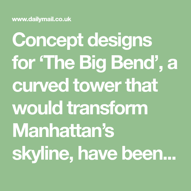 An Incredible U Shaped New York Skyscraper Is Unveiled