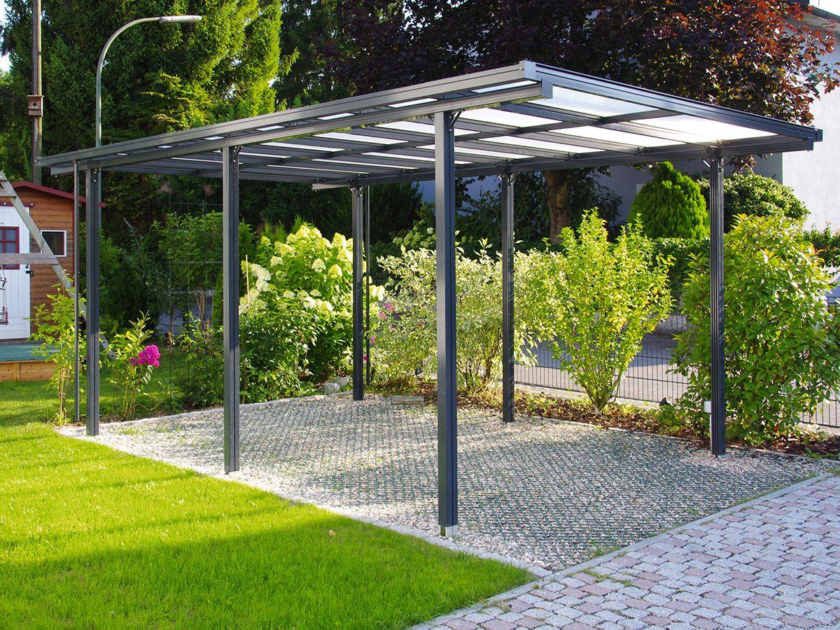 Aluminium Carport Carports Beckmann Kg Ihr Spezialist Fur Gewachshaus Und Gartenartikel Carport Aus Aluminium Carports Carport