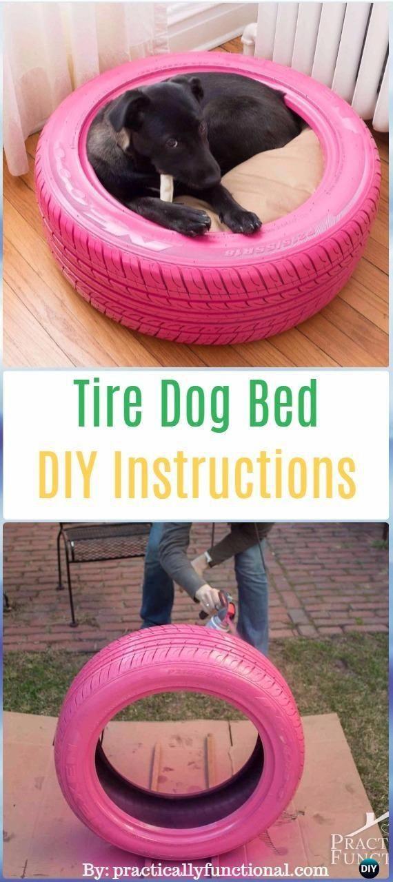 DIY Tire Dog Bed Instructions DIY Old Tire Furniture