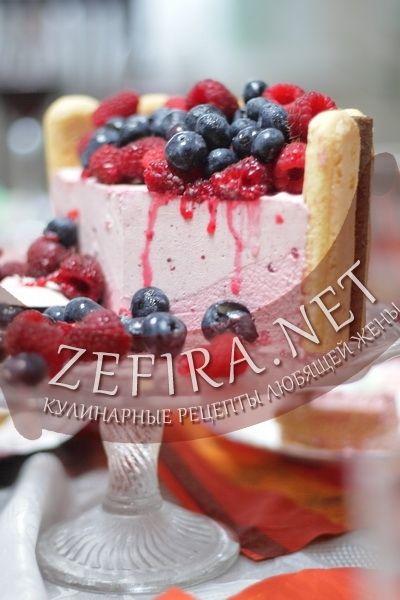 торт суфле.рецепты с фото