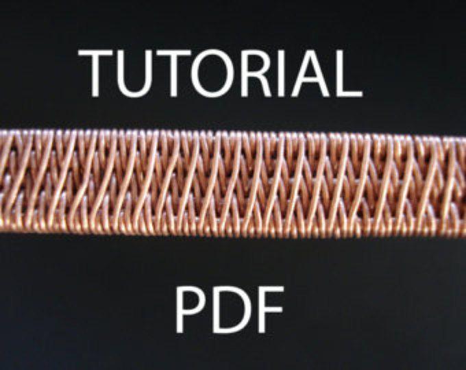Tutorial wire weaving pdf tutorial jewelry tutorial wire