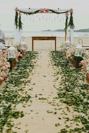 Inspirações para casamento ao ar livre/ na praia
