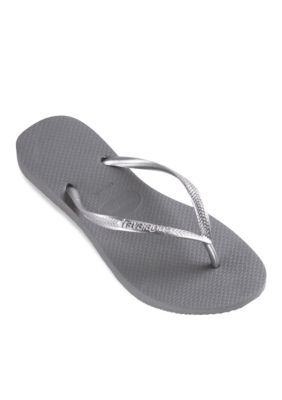 0358135af Havaianas Women s Slim Flip Flop - Steel Gray - 41 42
