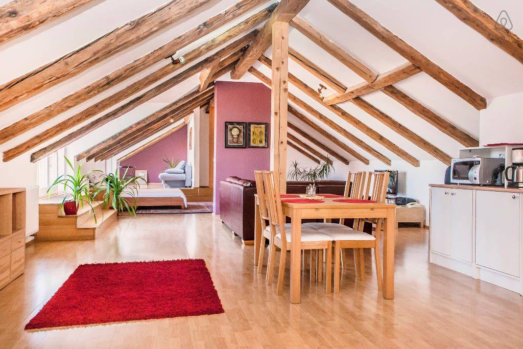 #Loft Di Lusso Nel Centro Di Praga Http://www.mansarda.it/mansarde/mansarde  In Giro Per Il Mondo Con Airbnb/