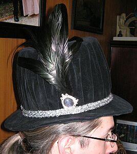 Elizabethan Tall Hat By Kat Tall Hat Hats Elizabethan