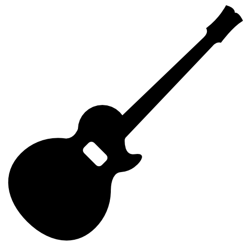 Acoustic Guitar Silhouette Free Vector Icons Designed By Freepik Silhouette Free Vector Icon Design Cool Silhouettes