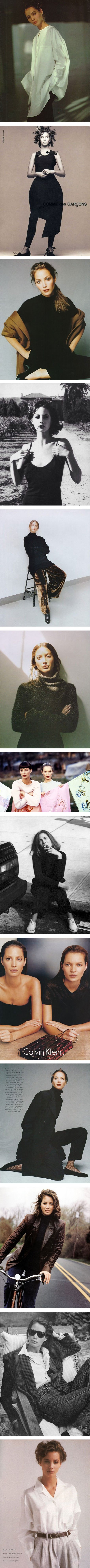 Christy Turlington's best 90s style moments via Nuji.com