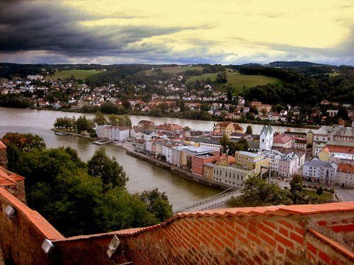 Passau germania inundating