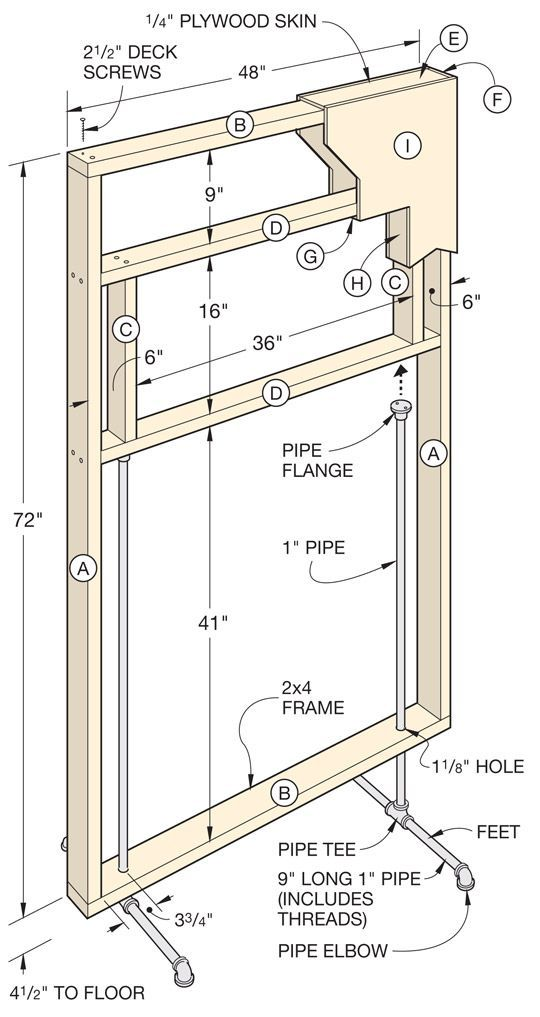 To Build a Freestanding Divider Wall How To Build a Freestanding Divider WallHow To Build a Freestanding Divider Wall