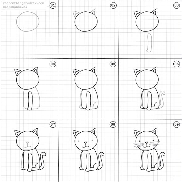 learn how to draw fun things with easy instructions also