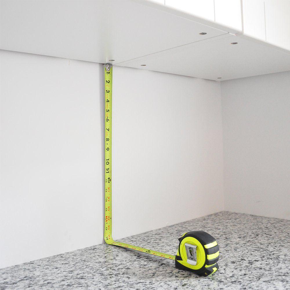 Measuring Backsplash Wall Height Laundry Room Makeover Pinterest