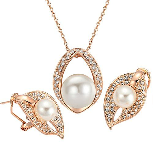 Yoursfs 18k Rose Gold Plated Vintage Costume Jewelry Use Zirconia