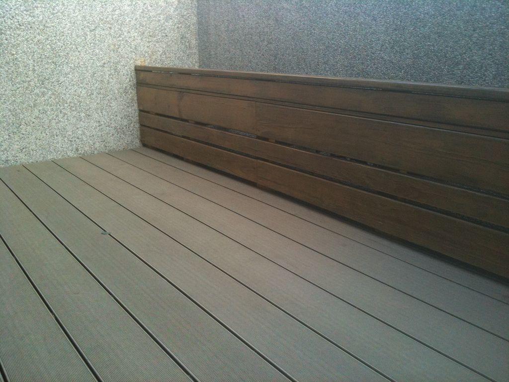 Malaysian plastic floor terrace Plastic flooring, Wood