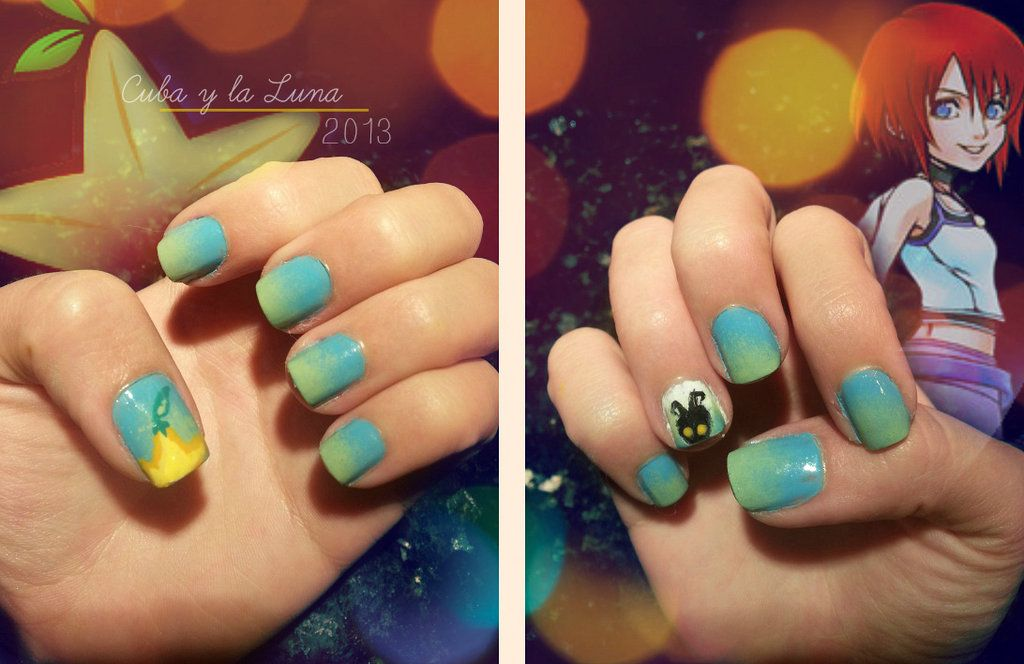 Kingdom Hearts Nails by CubaylaLuna | Tristan & Tiffani\'s Wedding ...