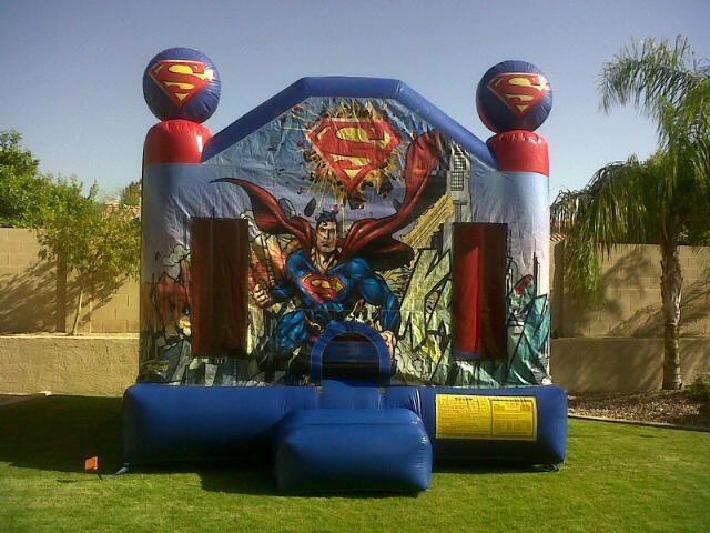Superman Bounce House Phoenix httpwwwfundepotllccom Superman