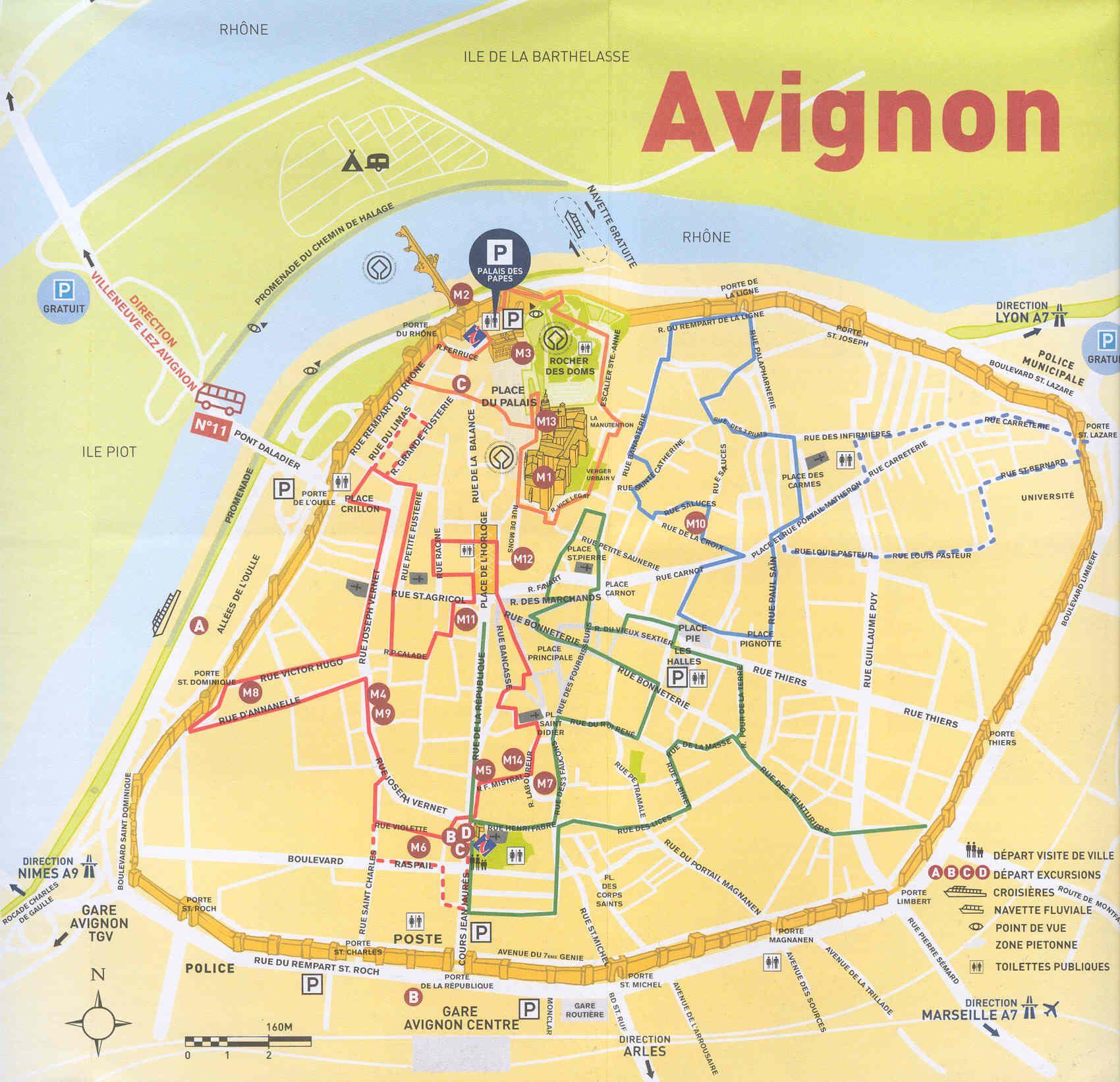 Avignon Tgv To City Center
