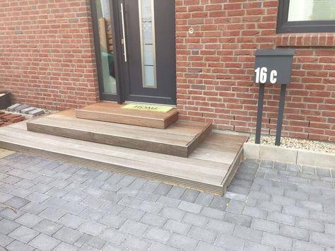 au entreppe f r den hauseingang treppe selber bauen treppe. Black Bedroom Furniture Sets. Home Design Ideas