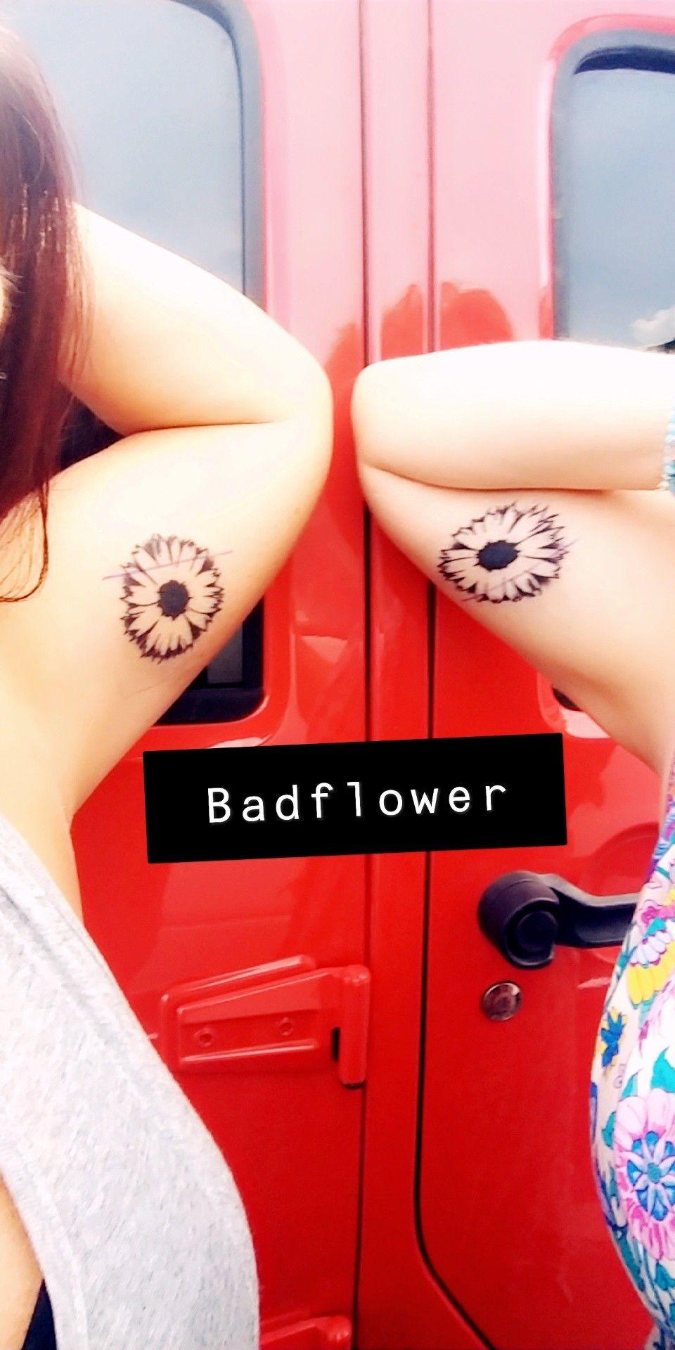 Bad Flower Tattoo : flower, tattoo, Badflower, Tattoo, Tattoos,, Print, Tattoo,, Tattoos