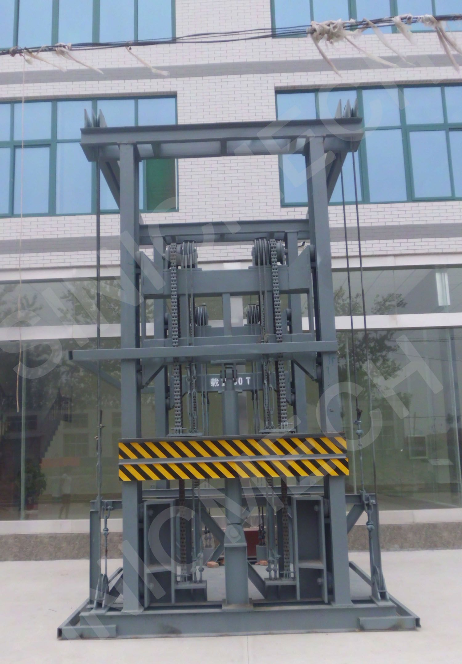 Cargo freight elevator can delivery goods in different for Elevator flooring options