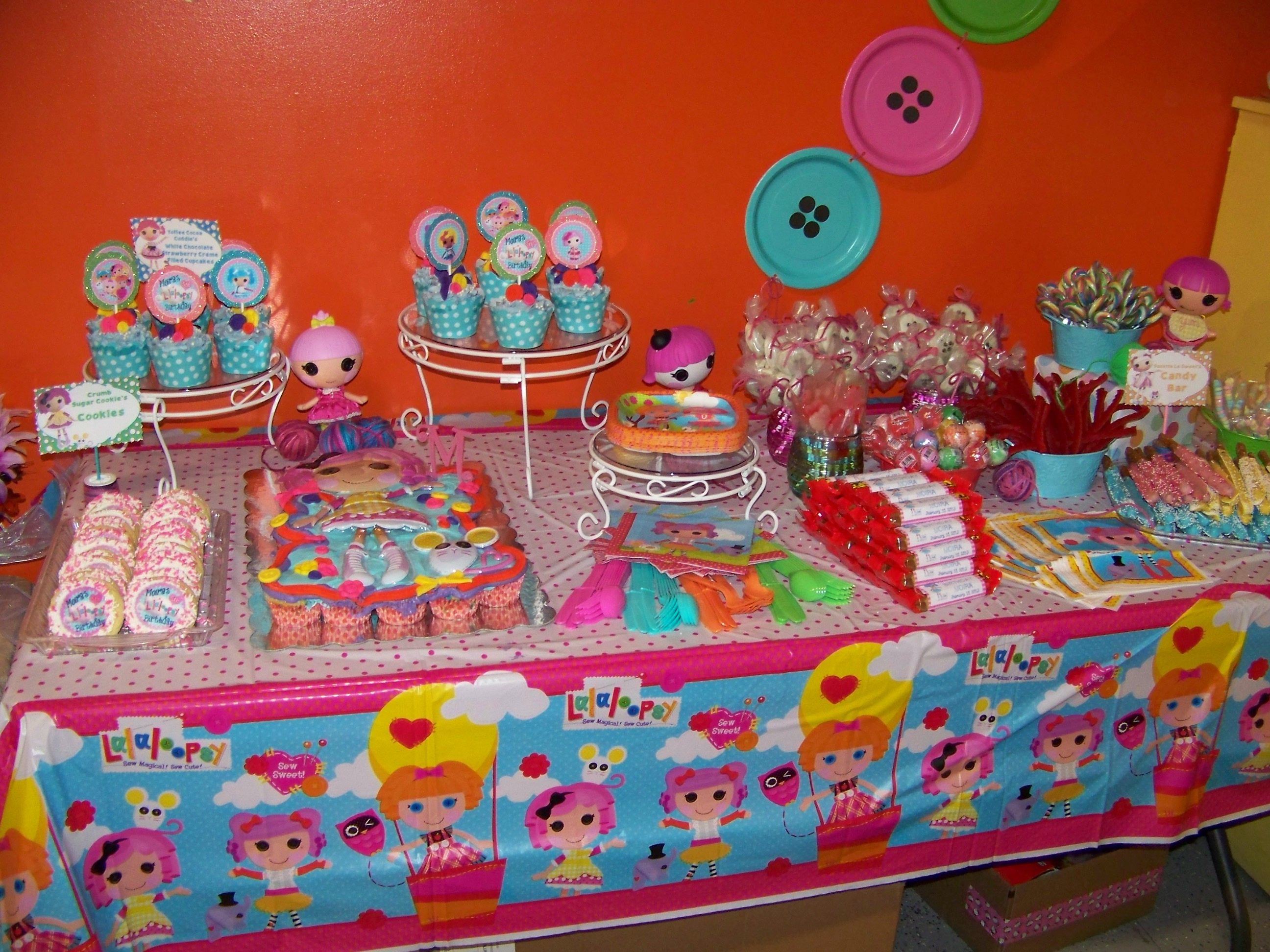 Dessert and Candy Bar Lalaloopsy Party