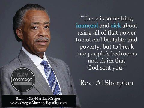 Rev al sharpton asshole
