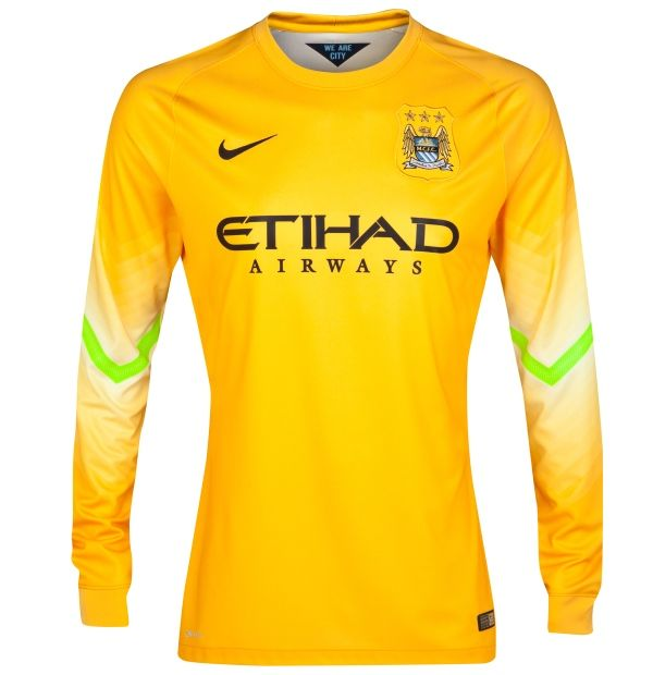 newest collection 663d9 c732c Manchester City Goalkeeper Kit 14/15 Nike | Sport Shirts ...