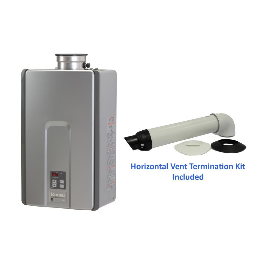 Rinnai High Efficiency Plus 7 5 Gpm Residential Natural Gas Interior Tankless Water Heater With 21 Tankless Water Heater Water Heater Tankless Water Heater Gas