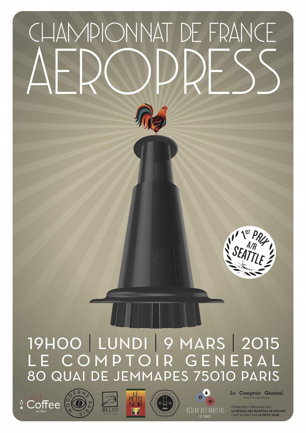 AeroPress x Art | Aeropress championship posters | Pinterest