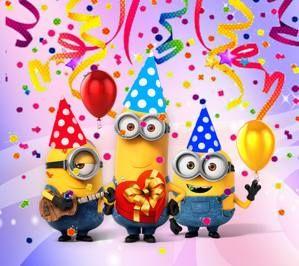 2160x1920px Alles Gute Zum Geburtstag Minions Herzliche