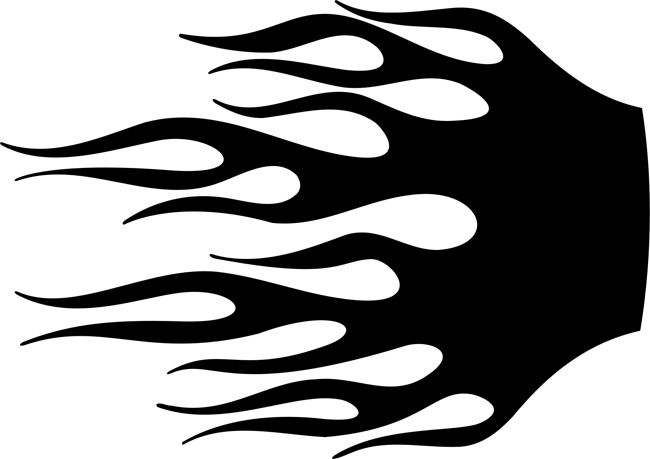 picture regarding Flame Stencils Free Printable referred to as 19 Simplest Pics of Flame Behaviors Stencils - Flame Stencils