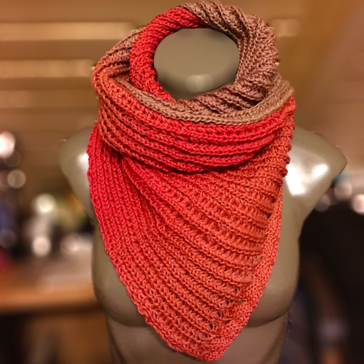 Attractive Gest Snood Muster Frei Photos - Decke Stricken Muster ...