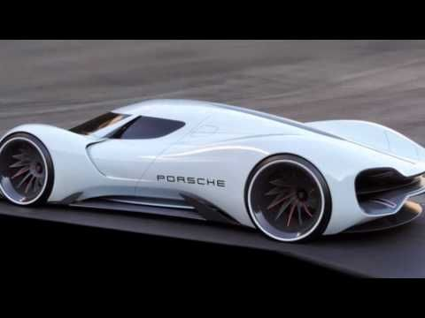 Porsche Lmp1 Hybrid 2020 Concept Futuristic Cars